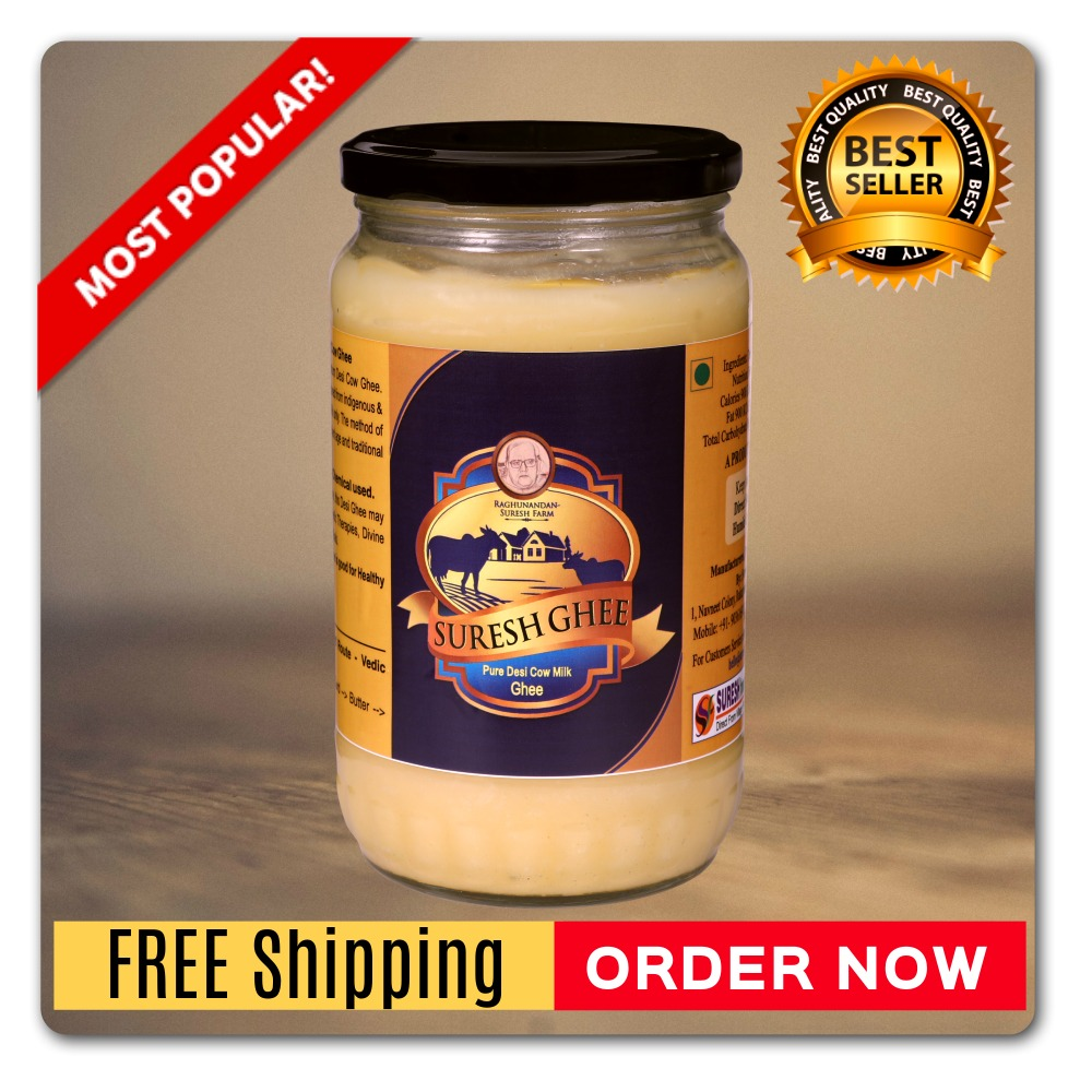 Pure Desi Ghee - (Most Popular) : SureshDesiGhee.com