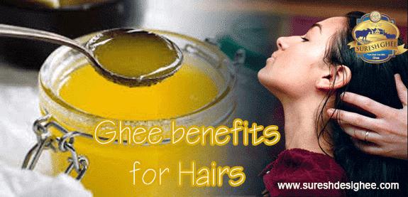 Ghee benefits for hair : SureshDesiGhee.com