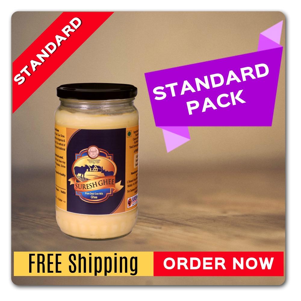 Pure Desi Ghee - (Standard Pack) : SureshDesiGhee.com