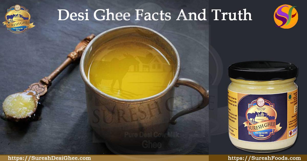 Desi Ghee Facts And Truth : SureshDesiGhee.com